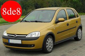 Opel Corsa C (2002) - Manual de taller en CD