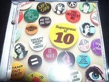 Supergrass Is 10 - The Best Of 1994-2004 Greatest Hits (Australia) CD - LikeNew