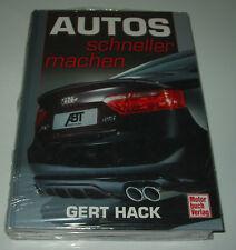 Tuninganleitung Autos schneller machen von Gert Hack NEU!