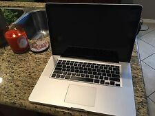 "MacBook Pro (15"", Mid-2009, 8GB RAM, 2.66GHz Intel Core 2 Duo, A1286)"