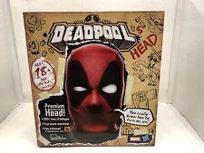 Marvel Legends Deadpool Electronic Premium Interactive Head In Hand