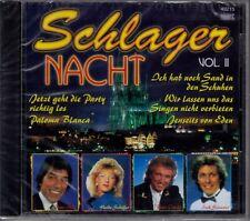 CD - Schlager Nacht Vol. II - Vol. 2 - NEU & noch verschweißt - 2002
