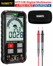 Lcd Digital Multimeter True Rms Acdc Voltage Tester Resistance Meter For Fluke