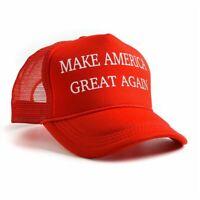 republicano Hacer grande a América de nuevo Donald Trump Hat Red Mesh Cap