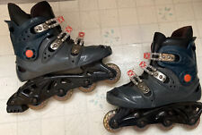 Used Xcs 2.0 Rollerblades In-line Skates Us Size Mens 11 12
