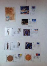 Lot de 8 Enveloppes et 1 Cartes PREMIER JOUR