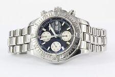 Breitling Superocean Chronograph A13340 Black 42mm Automatic Calendar Watch Mens