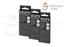 3 Krups Reinigungstabletten XS3000 1,5g Kaffee Fettlösetabletten - 30 Tabletten