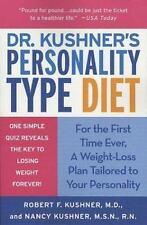 Dr. Kushner's Personality Type Diet, Kushner, Nancy, Kushner, Robert F., New Boo