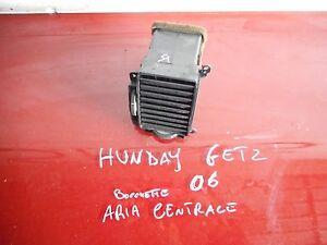 BOCCHETTA ARIA CENTRALE SX HYUNDAI GETZ 1.5 CRDI 2002-06