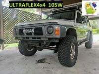 Genuine Ultraflex4x4 - GQ MQ Y60 PATROL 2X 7'' 105W ADR 46 & 13
