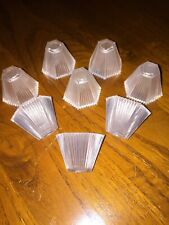 Vintage Christmas Lights Pifco Pastel /  Tutti Frutti Replacement Shades