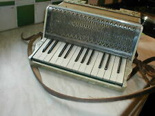 More details for vintage mazzini piano accordion in playing order with case and tutor books