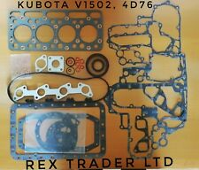 Kubota V1502, 4D76, Complete Gasket kit 4 cylinder with Graphite Sheet gasket