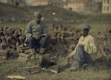 6x4 Gloss Photo ww2F22 World War 1 The Great War In Colour Db 81 4 3