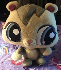 "7"" Littlest Pet Shop Lovely COZIEST CHIPMUNK Plush Stuffed Animal"