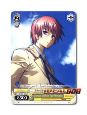 Weiss Schwarz Angel Beats! x 4 Otonashi Without Past Memories [AB/W31-E046 C] En