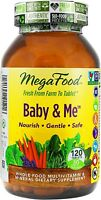 Baby & Me DailyFoods by MegaFood, 120 tablets with Herbs