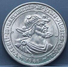 "Portugal  - 50 escudos 1968 ""Pedro Alvares Cabral"" - silver - KM# 593 Very nice!"