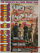 Trouble Funk Blues & Soul 1986  Anita Baker Randy Crawford Mtume The Boogie Boys