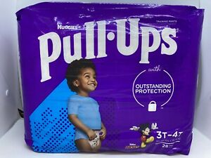 1 Pack Huggies Pull Ups Mickey 3T/4T 32-40lbs ~ 28 Count