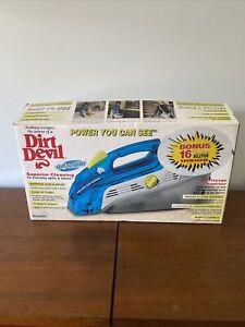NEW Dirt Devil Spot Scrubber Model SE2800 Upholstery Shampooer Cleaner Handheld