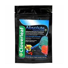 CLOVERLEAF ABSOLUTE + AQUARIUM PARASITE 50G FISH TREATMENT MEDICATION WATER