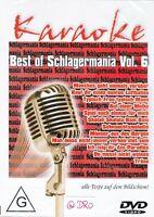 KARAOKE + DVD + Best of Deutsch Schlager (6) + Texte auf Bildschirm + Partyspaß