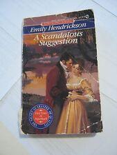 Emily Hendrickson - A Scandalous Suggestion (1991 pb) (003-10)