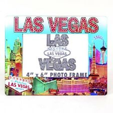Las Vegas Strip Sign Color Picture Frame Casino Hotel Photo Glass MGM Bellagio