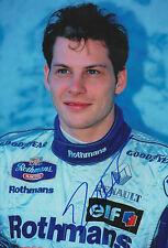 """Jacques Villeneuve """"Williams"""" Autogramm signed 20x30 cm Bild"""