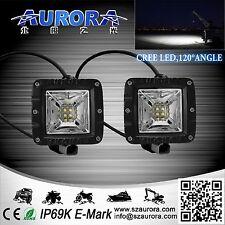 "AURORA 2"" WORKING LIGHTS (PAIR) 40W 3,200 LUMENS SCENE 120* BEAM PATTERN"