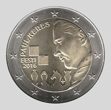 Estonia 2016 2 Euro Comm 100th Anniversario della nascita di Paul Keres UNC