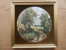 Cornfield By John Constable Hand Made Framed Velvet Surround Wall Plaque