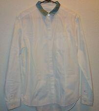 PIERRE BALMAIN white button pleat front long sleeve dress shirt SZ 26/ 40 NEW
