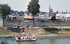 Clinton IN Polka Dance Barge~Tents~Dodge-Chrysler Car Dealer~Little Italy 1960s