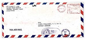CP4 Philippines *Legaspi City* SACRED HEART MISSION 1982 Air Mail MIVA Cover