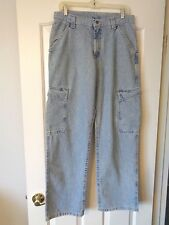 DEADSTOCK LEE UNION MADE BUDDY LEE CARPENTER JEANS 31X32 (#288-2928) USA