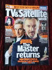 TV & SATELLITE WEEK UK MAGAZINE- 24-30 JUNE 2017- DOCTOR WHO - MICHAEL JACKSON