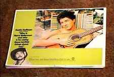 WHO IS HARRY KELLERMAN ... 1971 LOBBY CARD #8 DUSTIN HOFFMAN