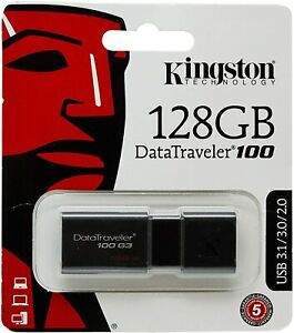 PENDRIVE USB 3.0 128GB CHIAVETTA PENNA KINGSTON DT100G3/128GB CORRIERE ESPRESSO