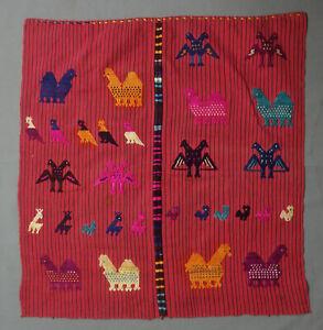 Antique/Vintage Guatemalan Textile: Servilleta from Chichicastenango