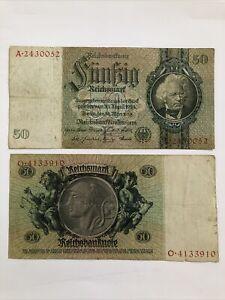 Germany Third Reich 50 Reichsmark 1933 P-182