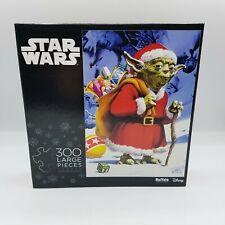 Buffalo Games Star Wars Santa Yoda Christmas Puzzle 300 Pcs Brand New Sealed
