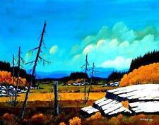 Original Northern Quebec Landscape - COUNTRY OUTCROP (Mitris 2008)