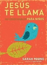 Jesús Te Llama : 365 Devociones para Niños by Sarah Young (2014, Hardcover)