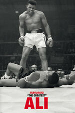 MUHAMMAD ALI FIRST ROUND QUOTES 24x36 poster SONNY LISTON CHAMPION CASSIUS CLAY!