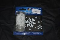 2m Long Window Border Cling Sticker snowflakes  Vintage Christmas Decorations