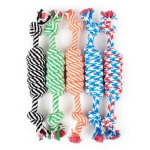 Dog Toys Cotton Rope Small Puppy Chew Tooth Bite Cleaning Pet Supplies Accessory