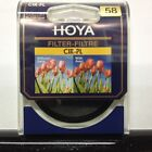 Genuine Hoya Circular Polarizing (0556) 58 mm Filter